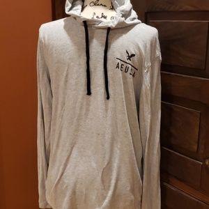 American eagle tshirt hoodie